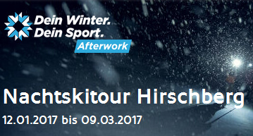 After-Work Tagesskitour Hirschberg
