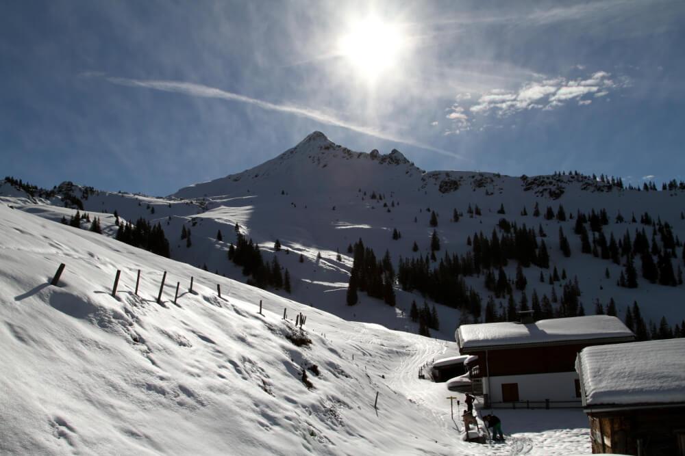 Skitagestour auf das Brechorn