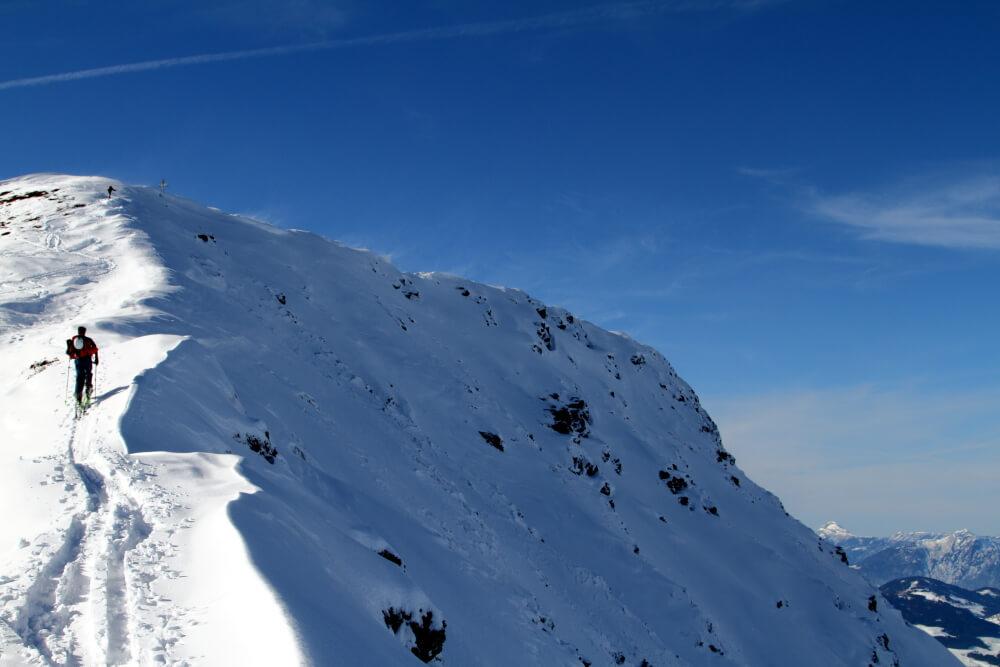 Gipfelgrat des Brechhorns