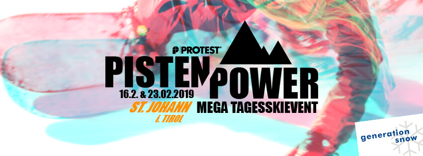 Protest Pistenpower Tagesskievent St. Johann (Generation Snow)